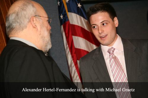 Alexander Hertel-Fernandez is talking with Michael Graetz