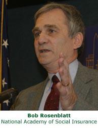 Bob Rosenblatt speaking collage