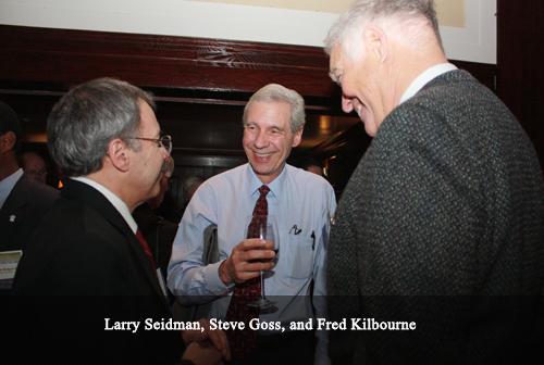 Larry Seidman, Steve Goss and Fred Kilbourne