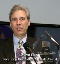 Steve Goss & the Award 2